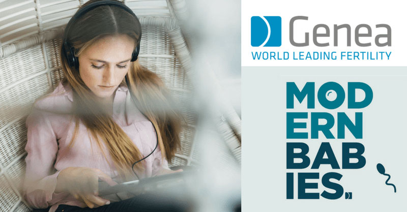 Read more about the article Branded Podcast Case Study: Genea's Modern Babies