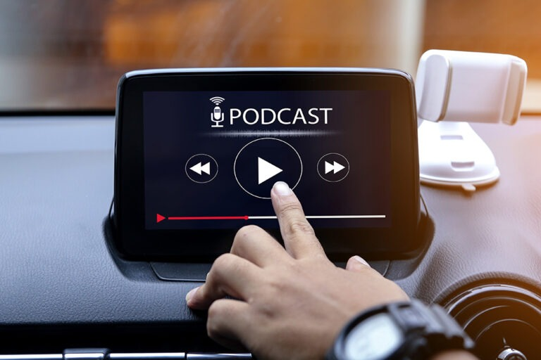 Podcasting's next frontier. The car