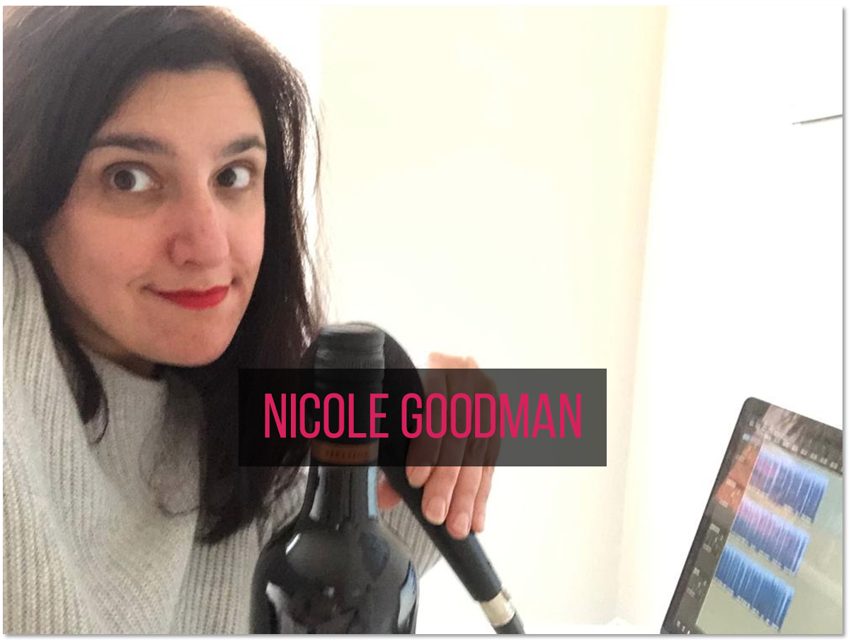 Nicole making a tough choice between work and wine