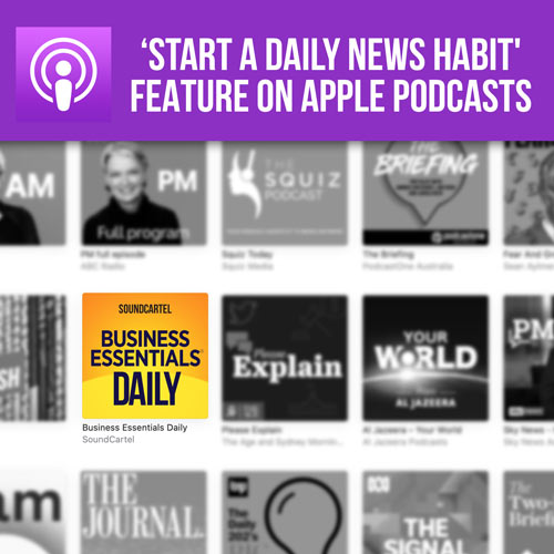 Start A Daily News Habit Apple List